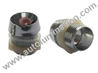 3mm 5mm 10mm Plastic Chrome Mounting Led Holder Bezel Clip Ring