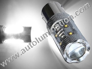 50 Watt Cree Osram 1157 (Dual Circuit) = 1016 1034 1076 1077 1130 1154 1158 1493 2057 2357 2397 7528 2F2112011 Wagner 17916 Tail Light Turn Signal Bulb