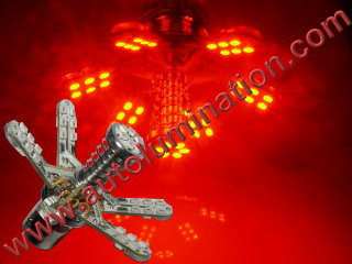 1157 1016 1034 1076 1077 1130 1154 1158 1493 2057 2357 2397 7528 Spider Spider Lights Tail Lights Leds Red