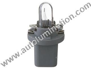 2741MF 2741 24 Volt Bulb T1 1/2 W/SOCKET 24V 1.2W