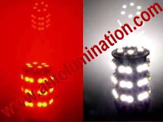 3157 combination red white led bulb