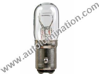 Bay15d 3496 Bulb T6 T15 DC IND 12V 43/3CP HONDA