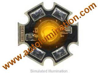 Luxeon Led 3 Watt High Powered Star Cree Orange