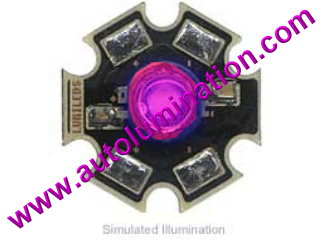 Luxeon Led 3 Watt High Powered Star Cree Pink
