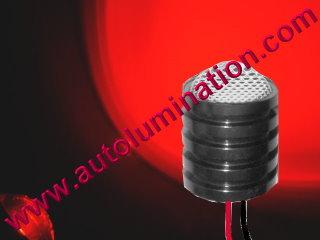 5 watt cree Led Regulated 12 volt light assembly Red