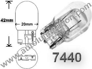 7440 W21W 7441 Single Circuit