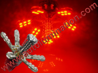7443 Spider Spider Lights Tail Lights Leds Red