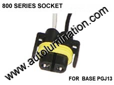 800 Series Right Angle 862 881 886 889 894 896 898 899 H27 / W2 Female Socket Pigtail Connector Wire
