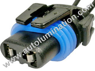 9005XS P20d HB3A Female Socket Pigtail Connector Wire