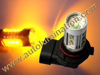 9005 P20d HB3A Amber 25 27 Watt Osram LED High Powered Headlight Bulb
