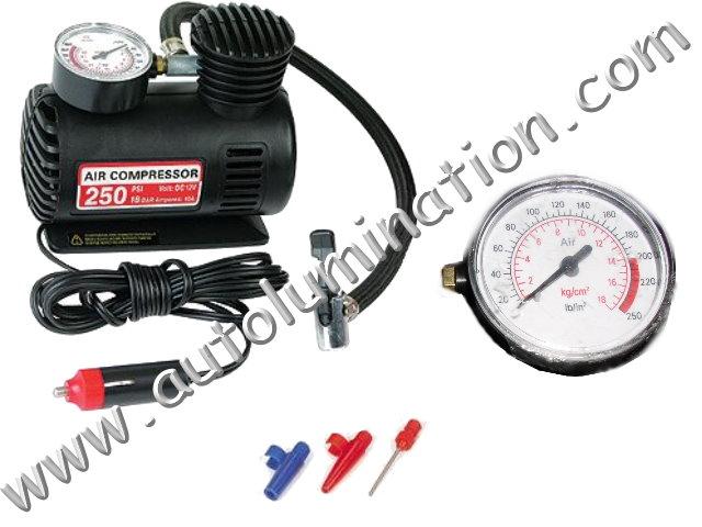 250 psi 12 volt Emergency Air Compressor