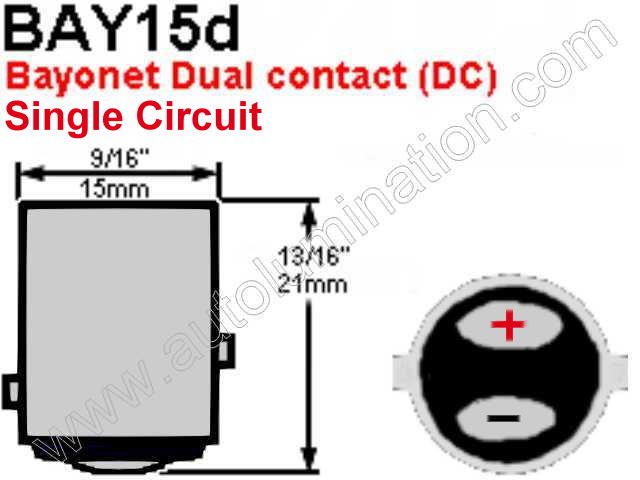 1142 Bay15d Single Circuit Base