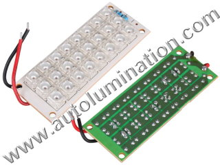 24 led Piranha Circuit  Board Panel Light