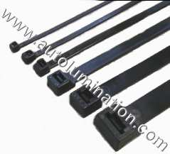 Plastic Zip Ties Black