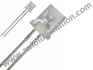 3mm 5mm Flat Top Raw Led