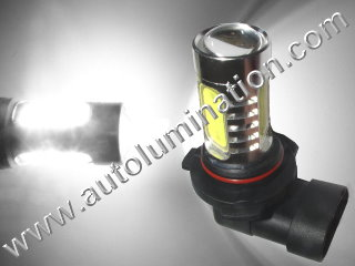 9005 P20d HB3A 6000K Super White LED 12 Watt High Powered Headlight Bulb