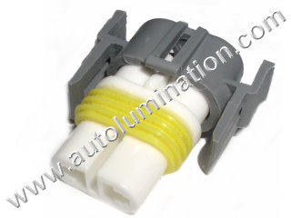 800 Series Right Angle 862 881 886 888 889 894 896 898 899 H27 / W2 Female  Headlight Socket Connector Pigtail