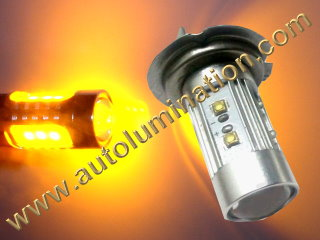 H4 9004 P43t Amber 25 27 Watt Osram LED High Powered Headlight Bulb