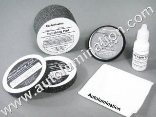 Headlight Tailight Fog Light Lens Plastic Cleaner Restore Restoration Polishing  Kit CCP Custom Chemical Packaging HLR200R POL 100