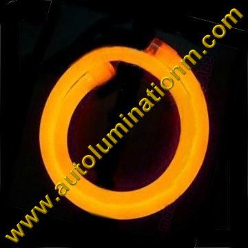 Flexible Neon LED EL Wire Tubing Amber