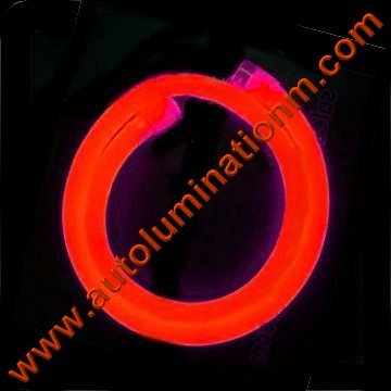 Flexible Neon LED EL Wire Tubing Red