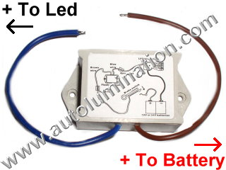 Flashing LED Brake Light Module