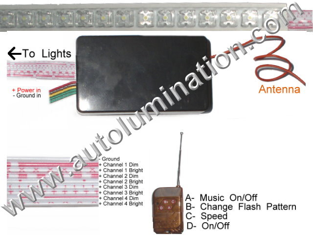Music Led Light Module