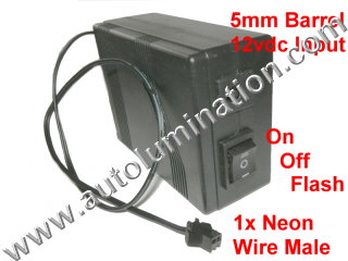 EL Wire Driver Neon Tubing 50 Meter Flasher