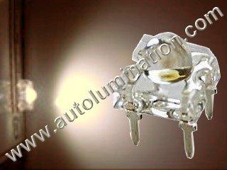 3mm 5mm Piranha Super Flux Square Raw Led Warm White
