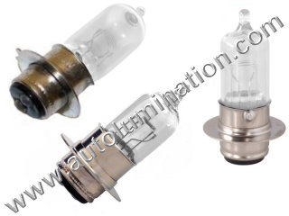 H6M PX15d P15d-25-1 6 Volt 35/35w Watt Clear Halogen