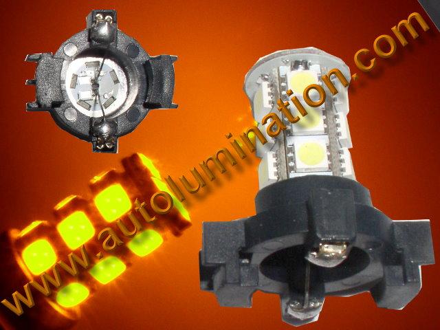 PY24W 5200S Amber Led DRL Turn Singnal Error Free Canbus BMW Bulb E70, E71, E83, E89, E90, E92, LC1, F07, F10
