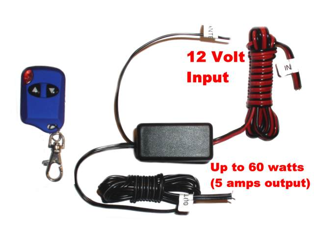 12 Volt Wireless Remote Switch