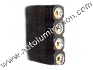 Led RGB 5 Pin Straight Jumper Connector Female to Female