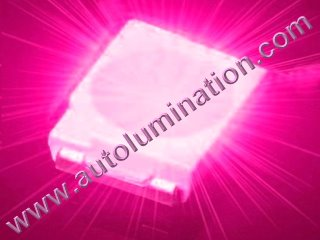 Pink SMT Led