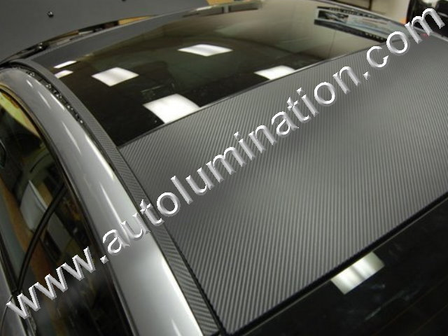 Vinyl 3D 3m Graphite Carbon Fiber Film Black